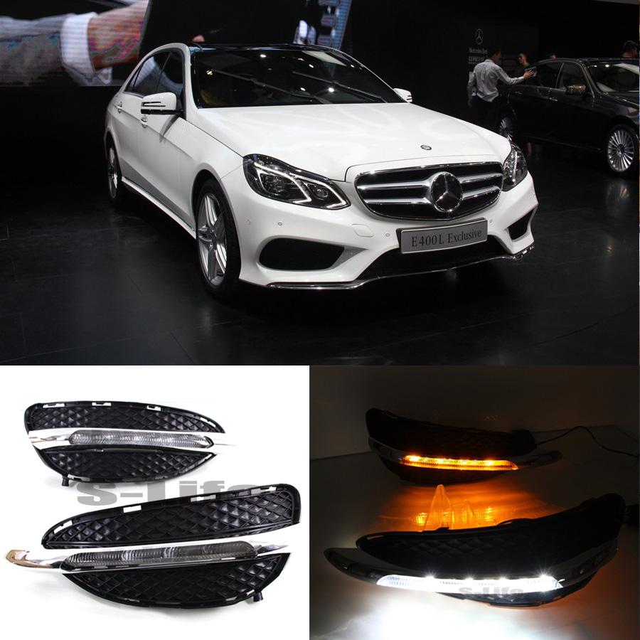 Mercedes-Benz E-Class: Daytime running lamps