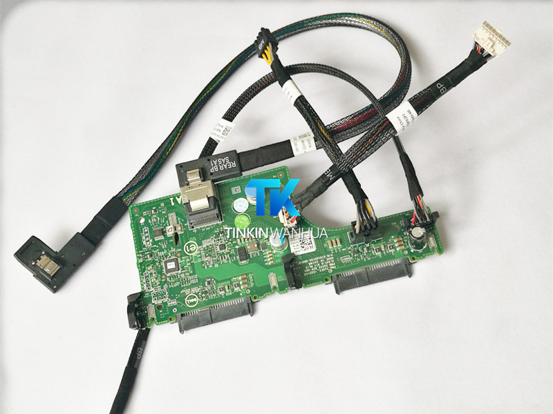 """New Dell R720xd Rear Flex Bay 2.5/"""" Drive Backplane KIT Chassis 0JDG3 w// Cables"""