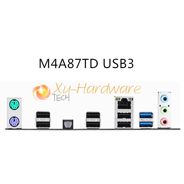 ASUS I//O IO SHIELD BLENDE BRACKET  M4A87TD USB3