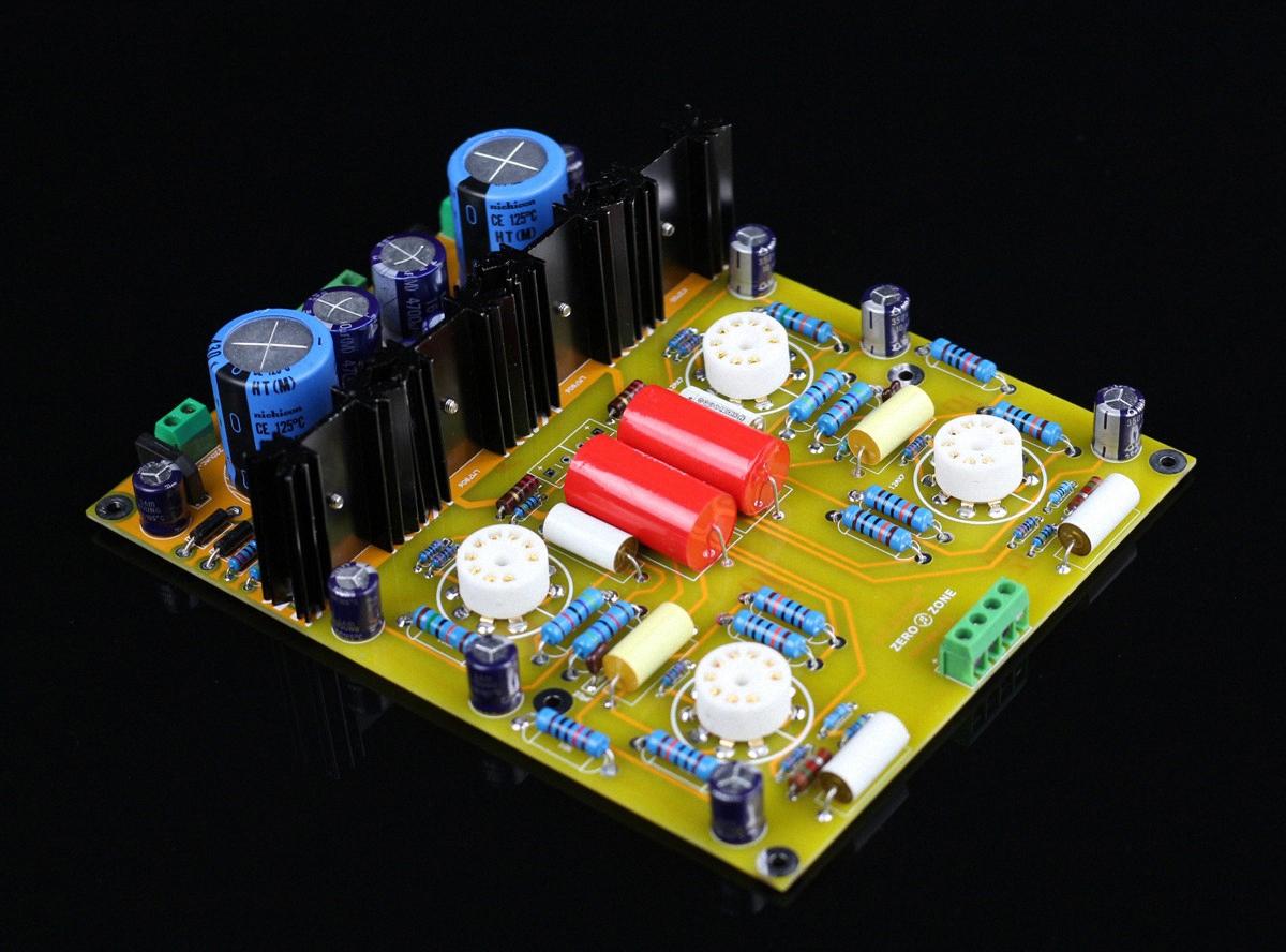 Prt05a 12ax7 Tube Preamplifier Baord Base On Conrad Johnson Cl Preamp Circuit No