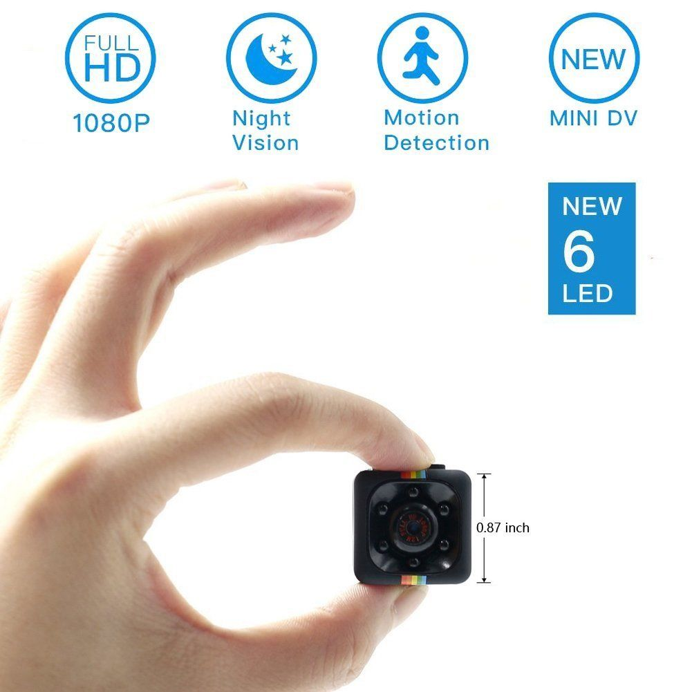 Mini Spy Hidden Camera,NIYPS 1080P Portable Small HD Nanny Cam with Night Vis...