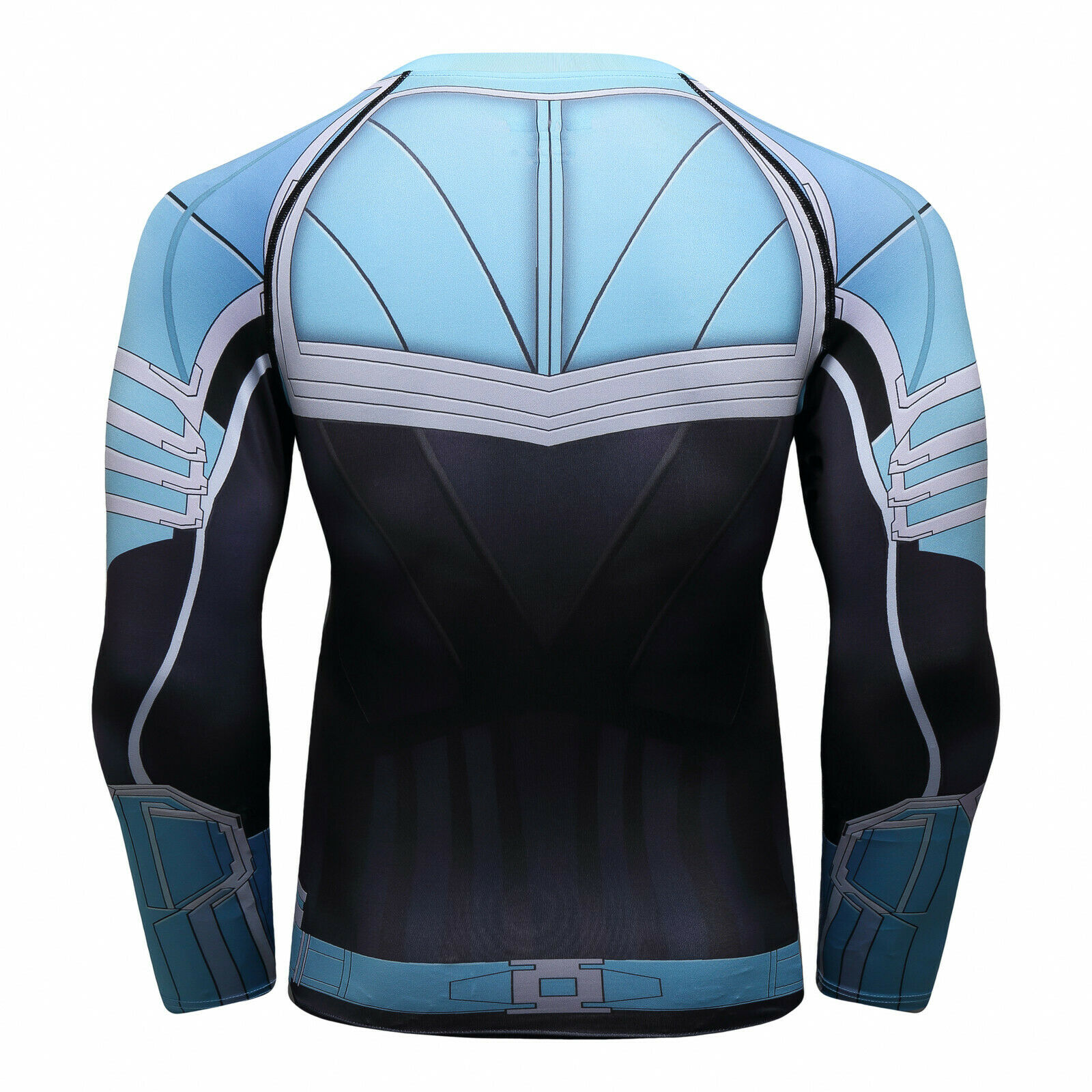 Men-039-s-Avengers-4-Compression-T-Shirts-Iron-Cosplay-Costumes-Quick-dry-Fitness thumbnail 29