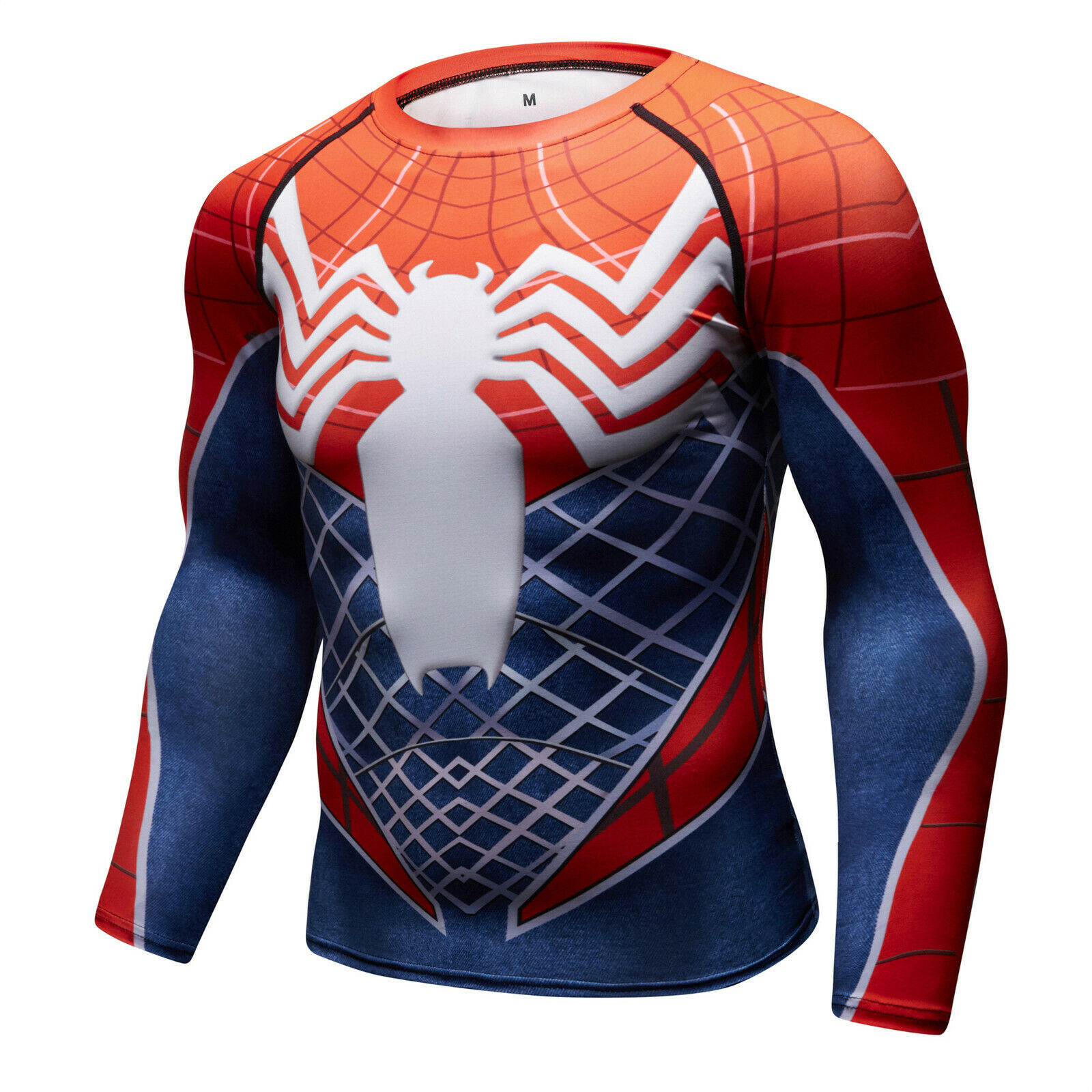 Men-039-s-Avengers-4-Compression-T-Shirts-Iron-Cosplay-Costumes-Quick-dry-Fitness thumbnail 43
