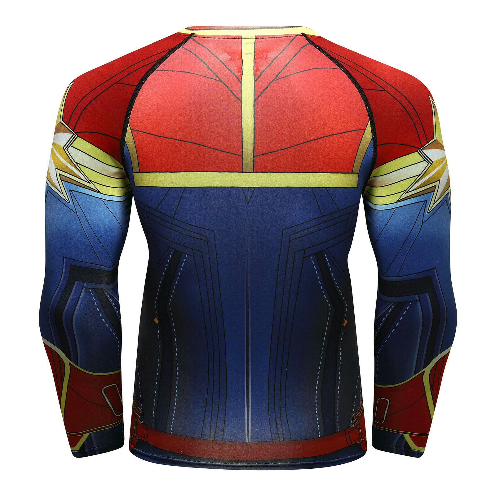 Men-039-s-Avengers-4-Compression-T-Shirts-Iron-Cosplay-Costumes-Quick-dry-Fitness thumbnail 20