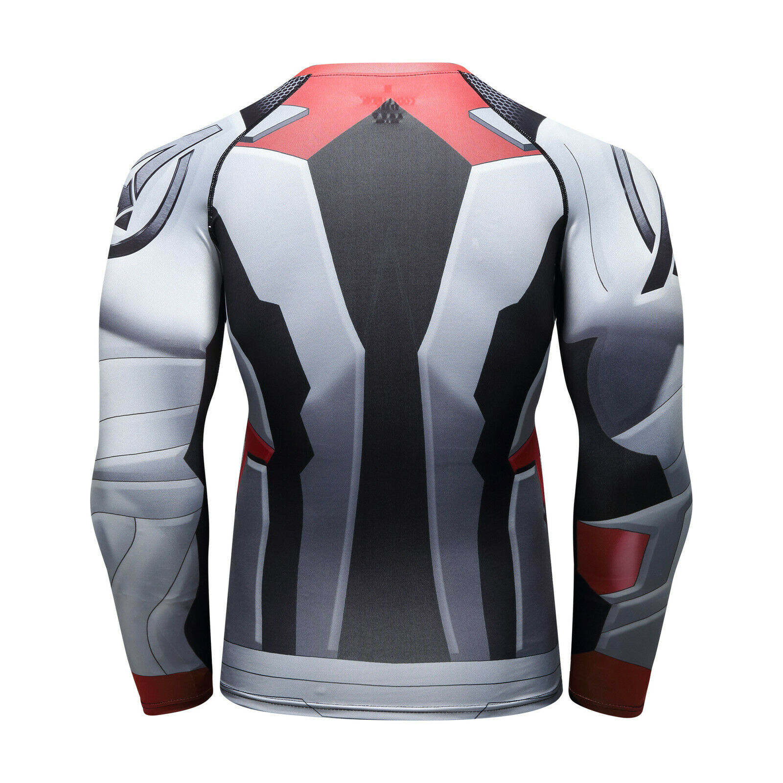 Men-039-s-Avengers-4-Compression-T-Shirts-Iron-Cosplay-Costumes-Quick-dry-Fitness thumbnail 14