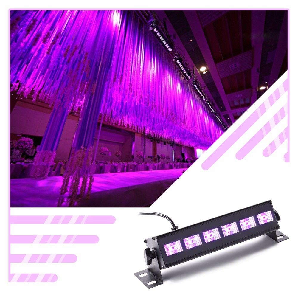 Details About U King 18w Uv Black Light Wall Wash Stage Lighting Purple Led Lights Wedding Bar