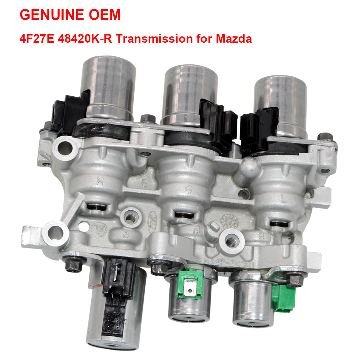 4F27E OEM Transmission Solenoid Block Pack for Ford Focus Mazda 4Spd  Automatic
