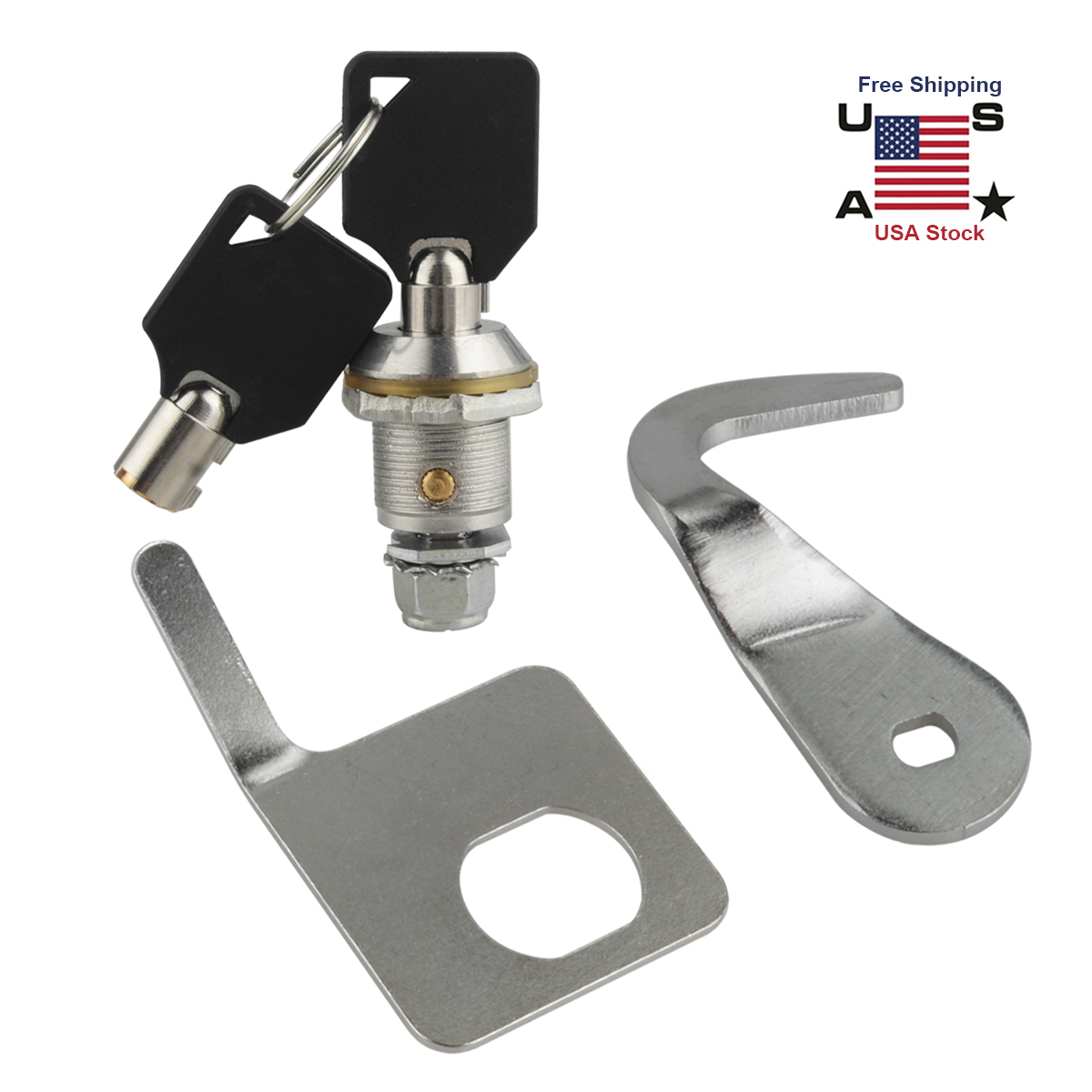 3c776ba28772 Details about Tour-Pak Pack Lock Key Kit For Harley 1993-2013 Touring  Davidson Replacement
