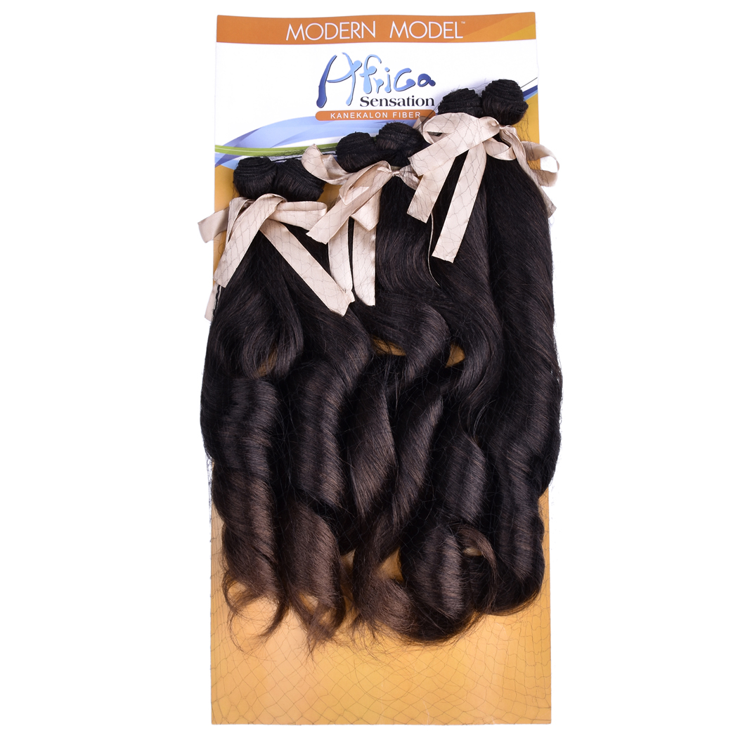 6pcspack Sew In Full Head Hair Weave Body Wave Synthetic Hair