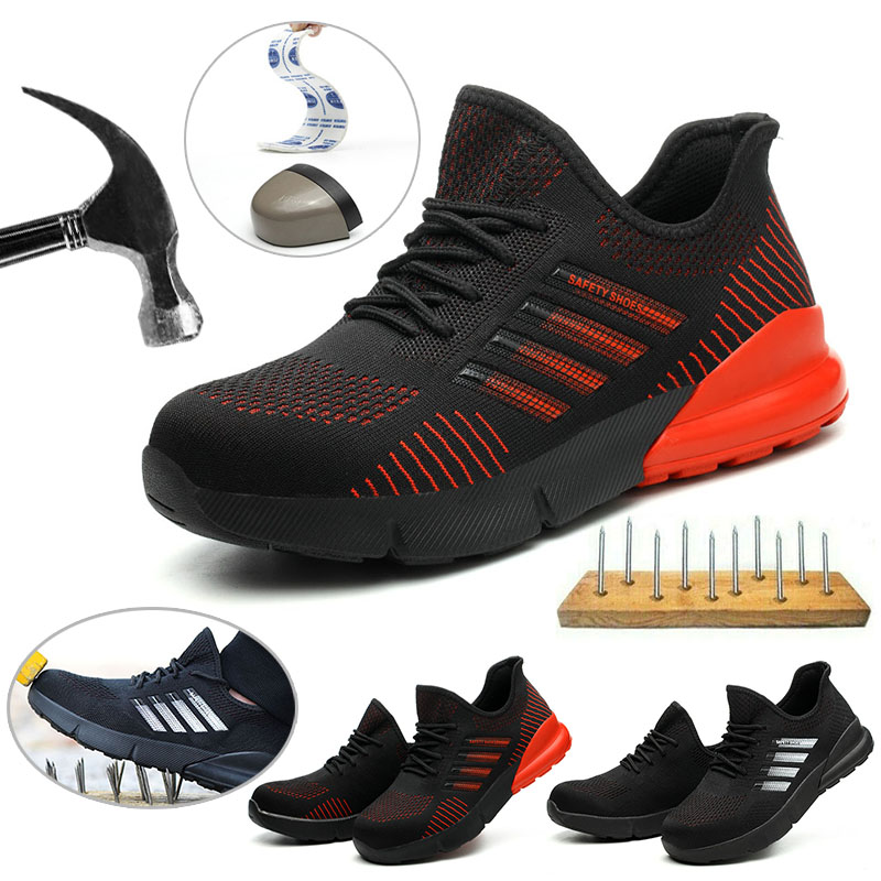 Details about Mens Indestructible Ultra Steel Toe Safety Shoes Trainers  Work Boots Cap Hiking
