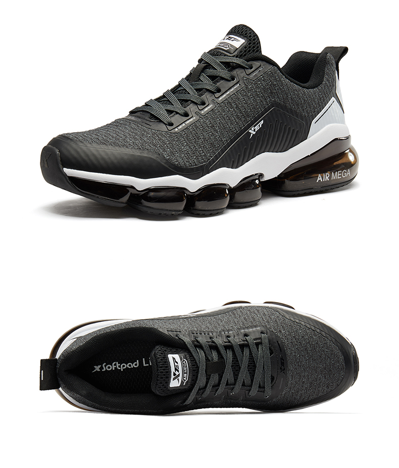 Details about Xtep Mens Air Shock Absorbing Sports Shoes Athletic Casual Running Gym Sneakers