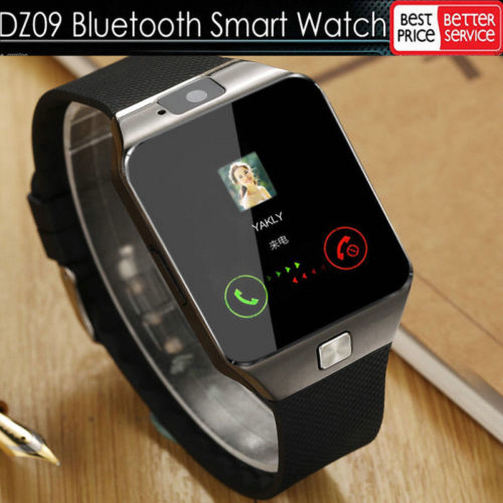 016fe81f6cc5 Details about LATEST DZ09 Bluetooth Smart Watch Camera SIM Slot For HTC  Samsung Android Phone