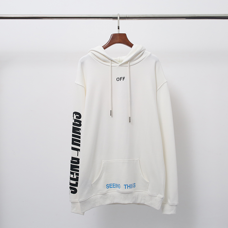 8a8bb6ada021 Details about OFF-WHITE Marilyn Monroe print Sweatshirts Casual Top Hooded  Sweater New Z