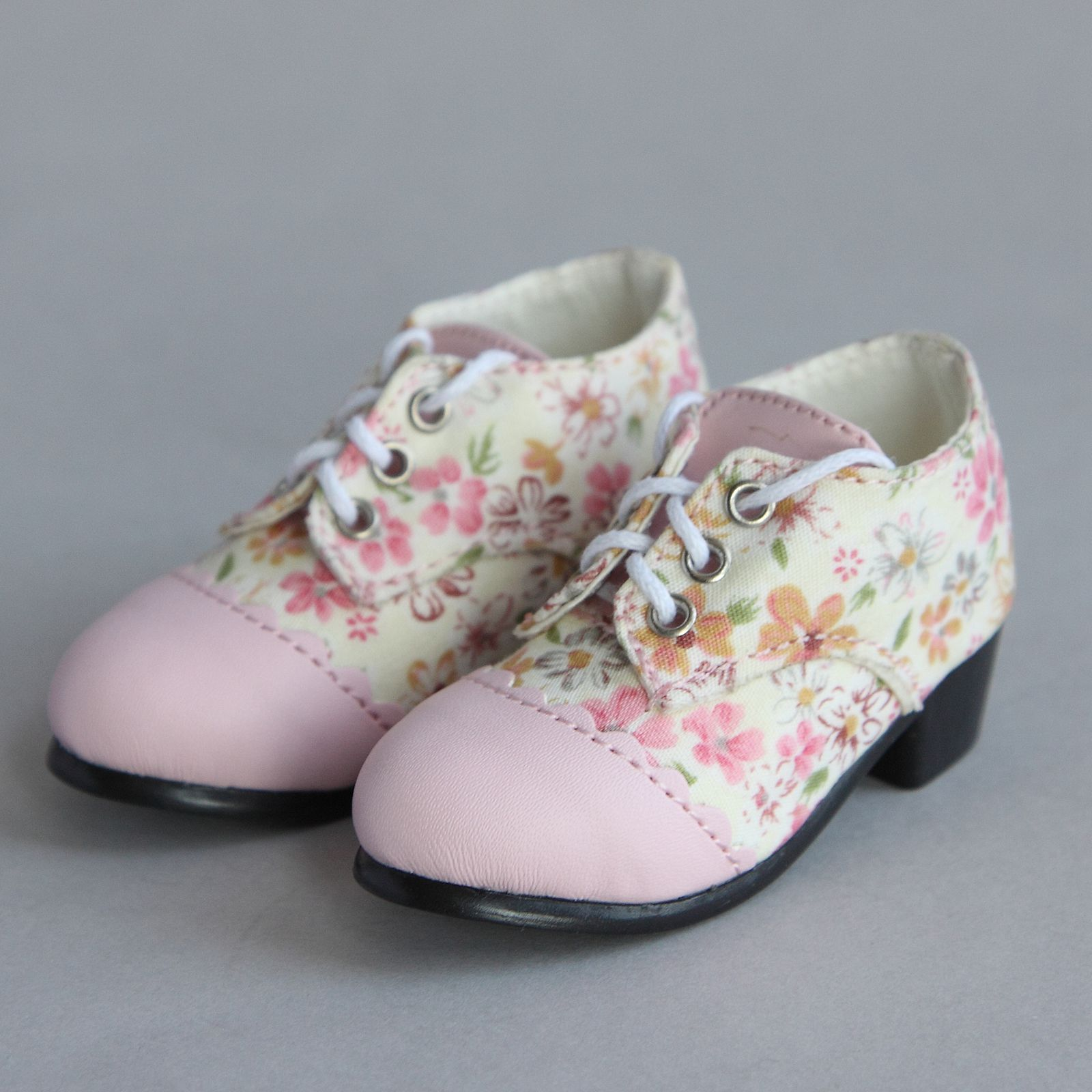 10 Pairs  Shoes Flower Design Doll Shoes  Dolls Accessories Gift PLF