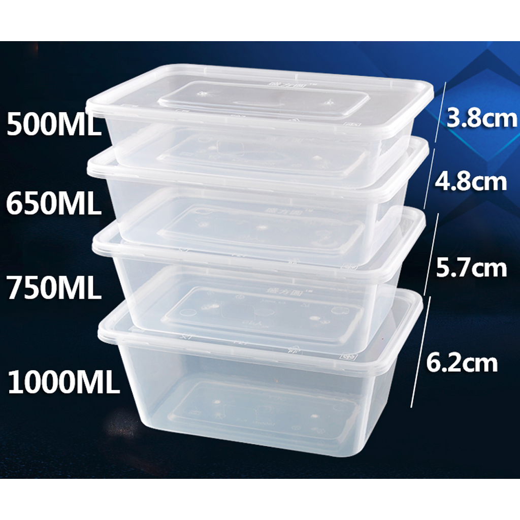 Jb Transpa Plastic Food Storage