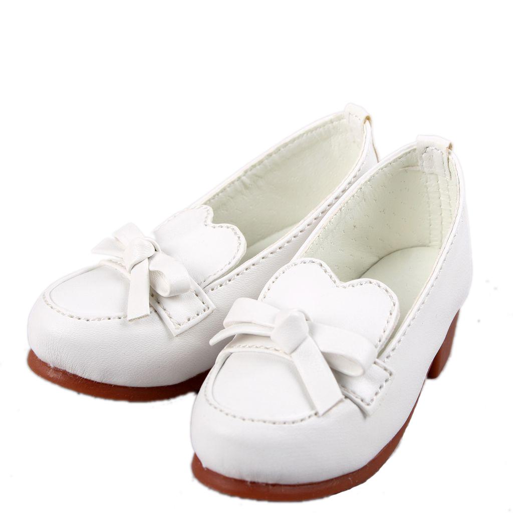 122# Dark Brown 1//4 Bow Cute BJD Loli MSD DOD LUTS Dollfie Doll Shoes PF