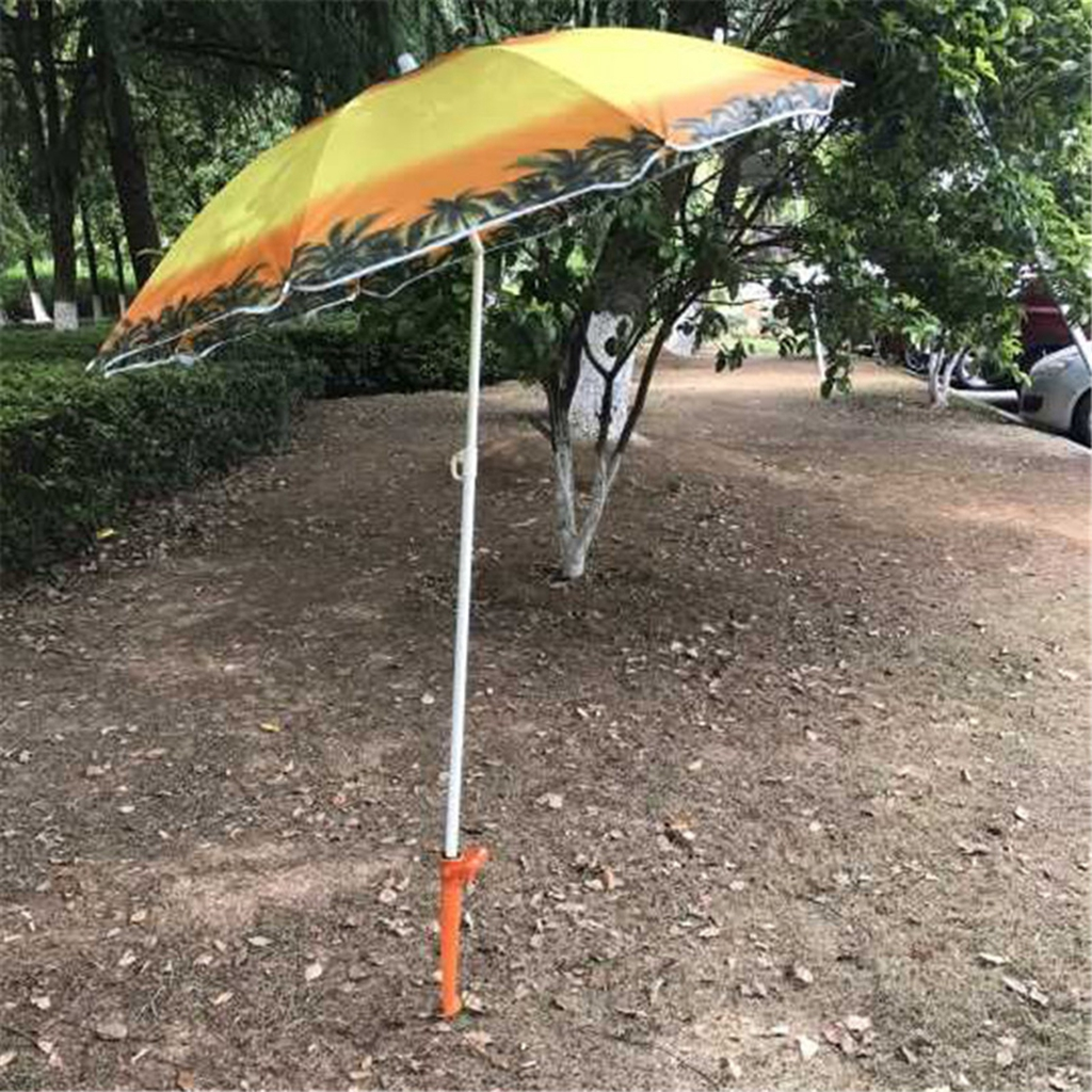 Details about Garden Sun Beach Patio Umbrella Holder Ground Anchor Spike  Fishing Stand