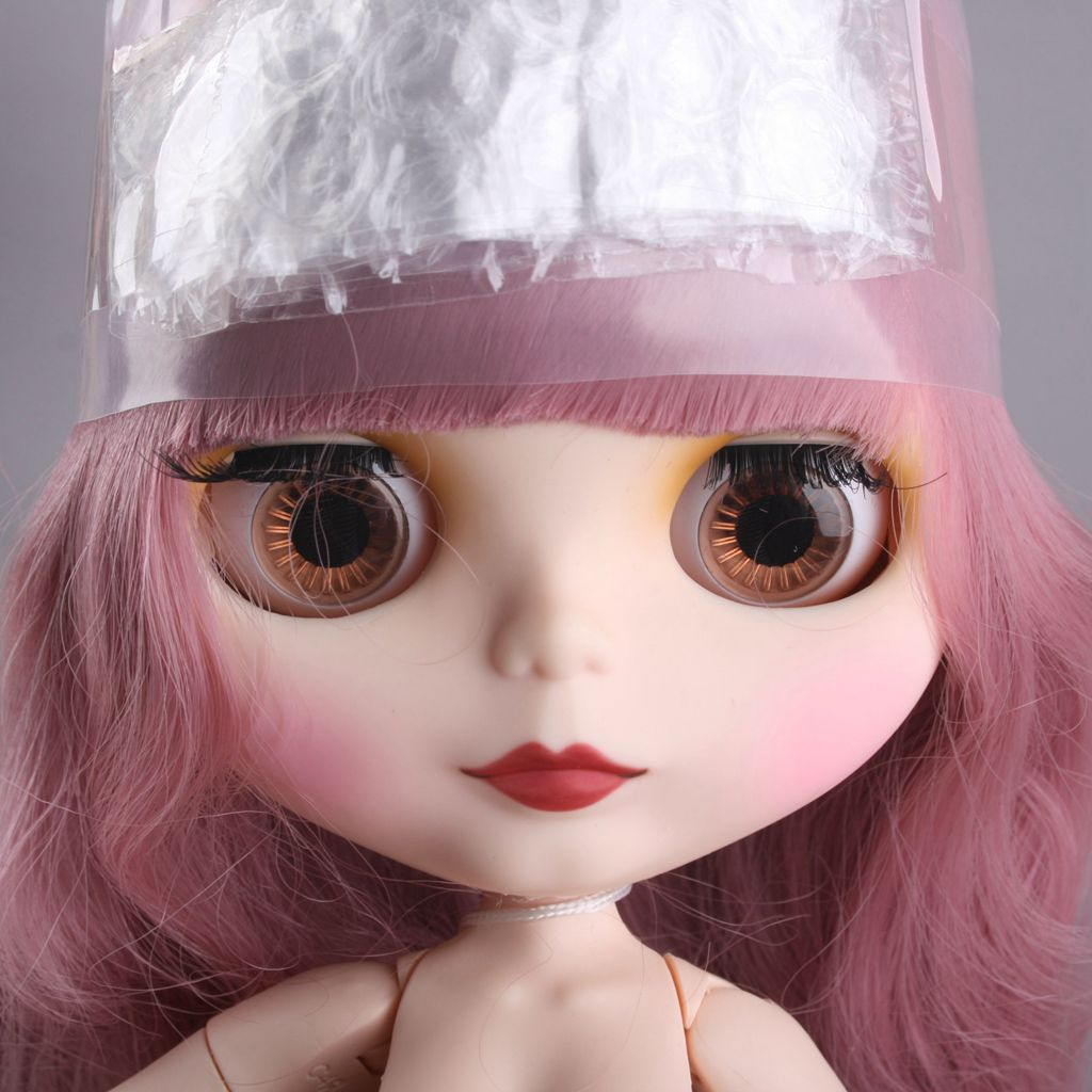 [PF] 12 Neo Blythe Doll Takara 19 Combined Nude Doll Pink
