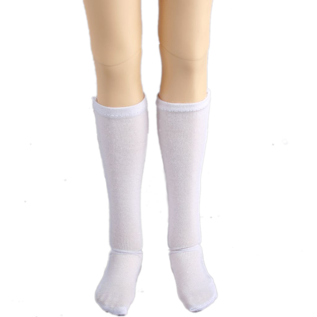 11#acc Black And White Striped Socks For 1//6 SD AOD BJD Doll Dollfie PF