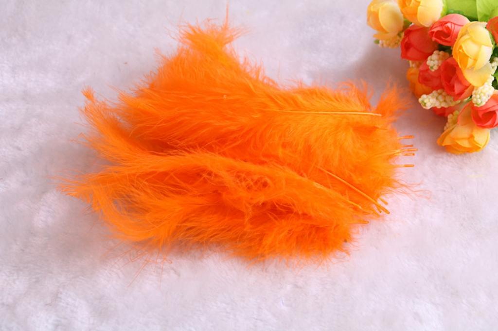 50 X Large Fluffy Feathers 10-15cm Crafts Embellishment wamami