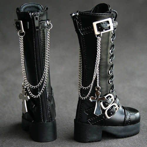 41#1//4 MSD DZ DOD BJD Dollfie Synthetic Leather Boots//shoes PF