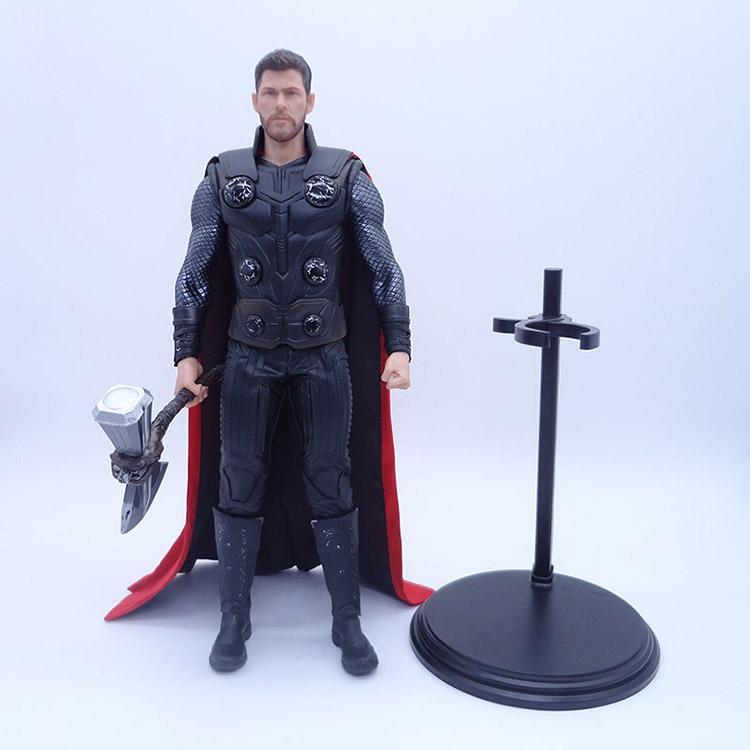 Crazy Toys 1//6 Avengers 3 Thor With Axe Collectible Figure Model Statue 12 Inch