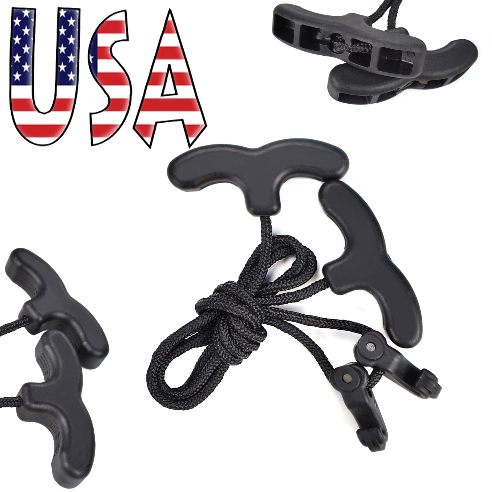 Cocking Device Crossbow Rope String Bow Hunting Tool Accessories Aid Cocker Rope