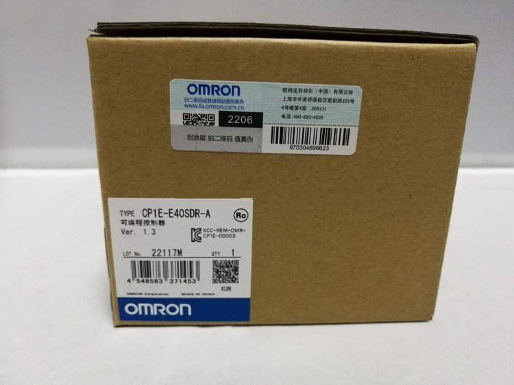 1-Year Warranty ! New In Box Omron PLC CP1E-E40SDR-A