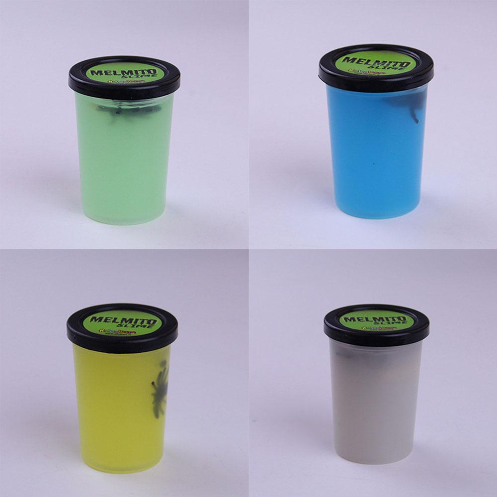 Non-toxic Novelty Luminous Sand Skin Glue Nose Mud Prank Toys Jelly