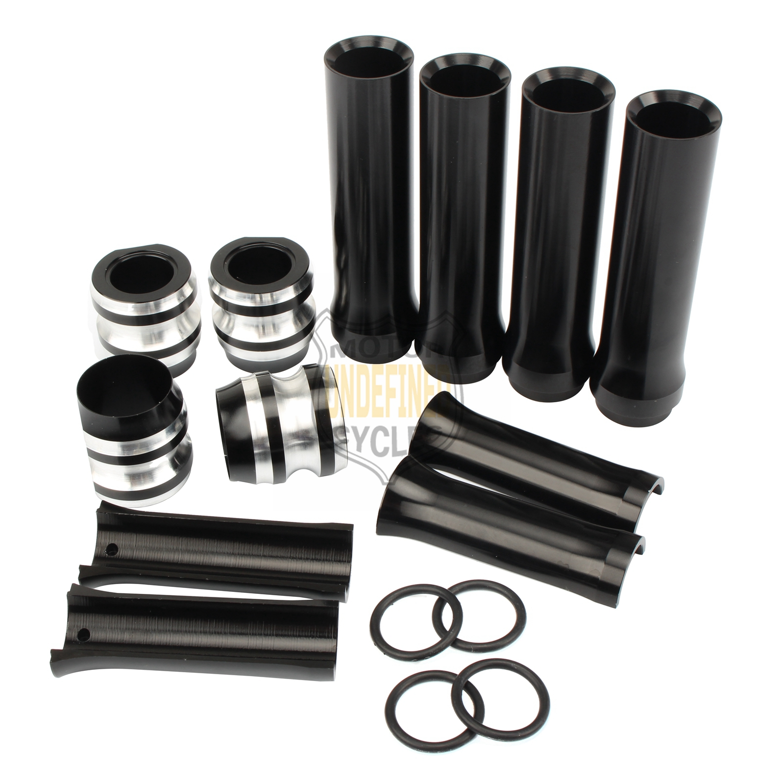 Cam Tube details about cnc black pushrod tube covers lower set for harley twin cam touring 1999-2017