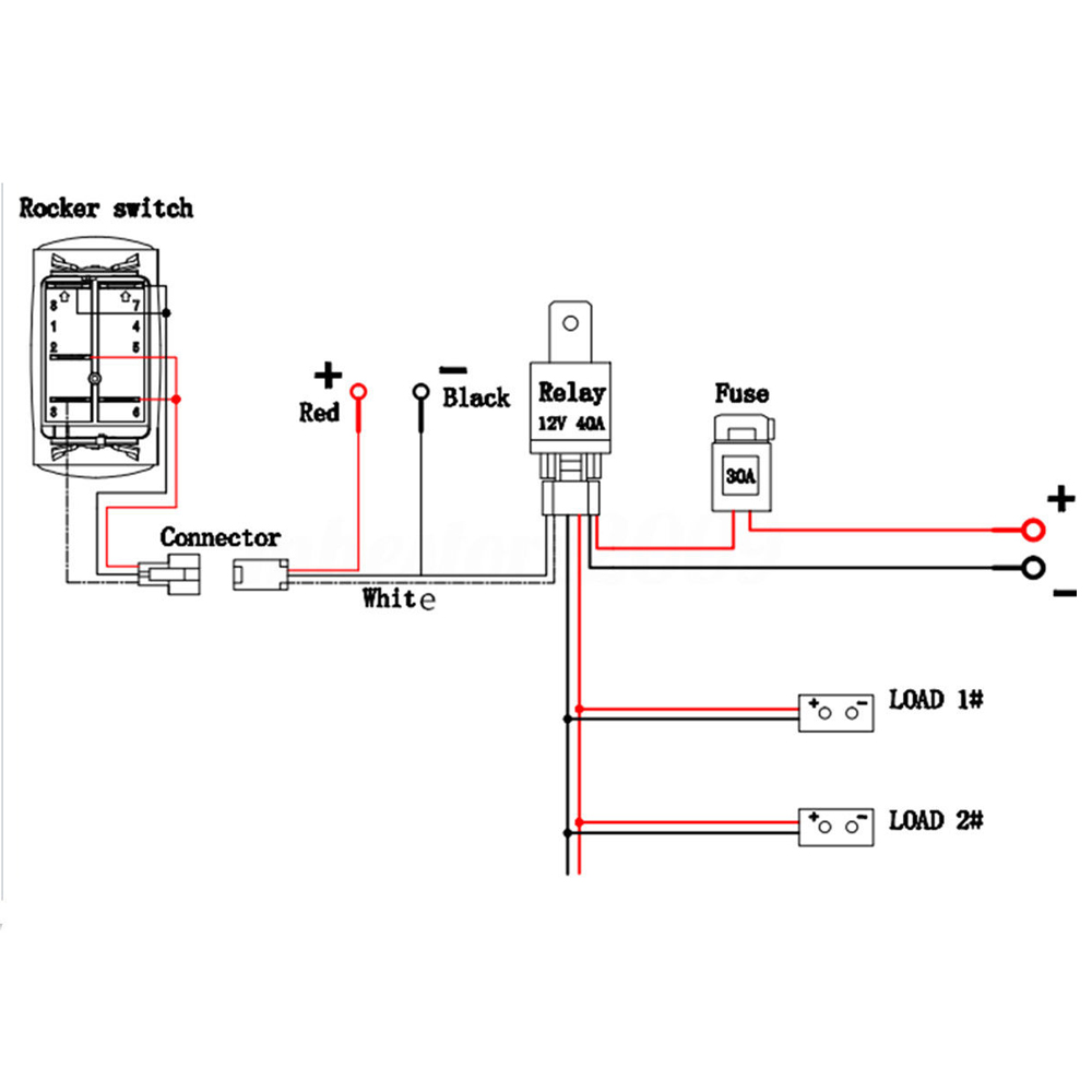 Wiring Diagram For Led Driving Lights