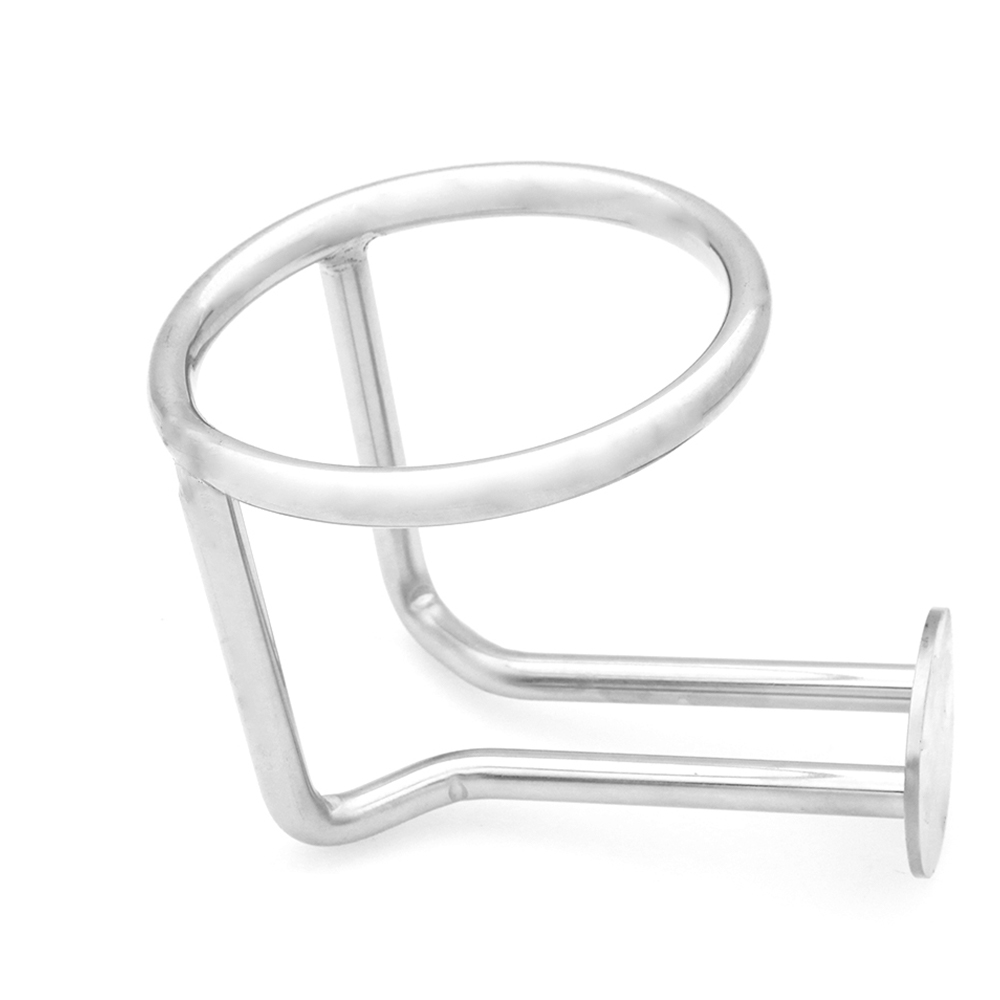 Ring Type Cup Drink Holder For Car Marine Yacht Truck RV 2x Stainless Steel