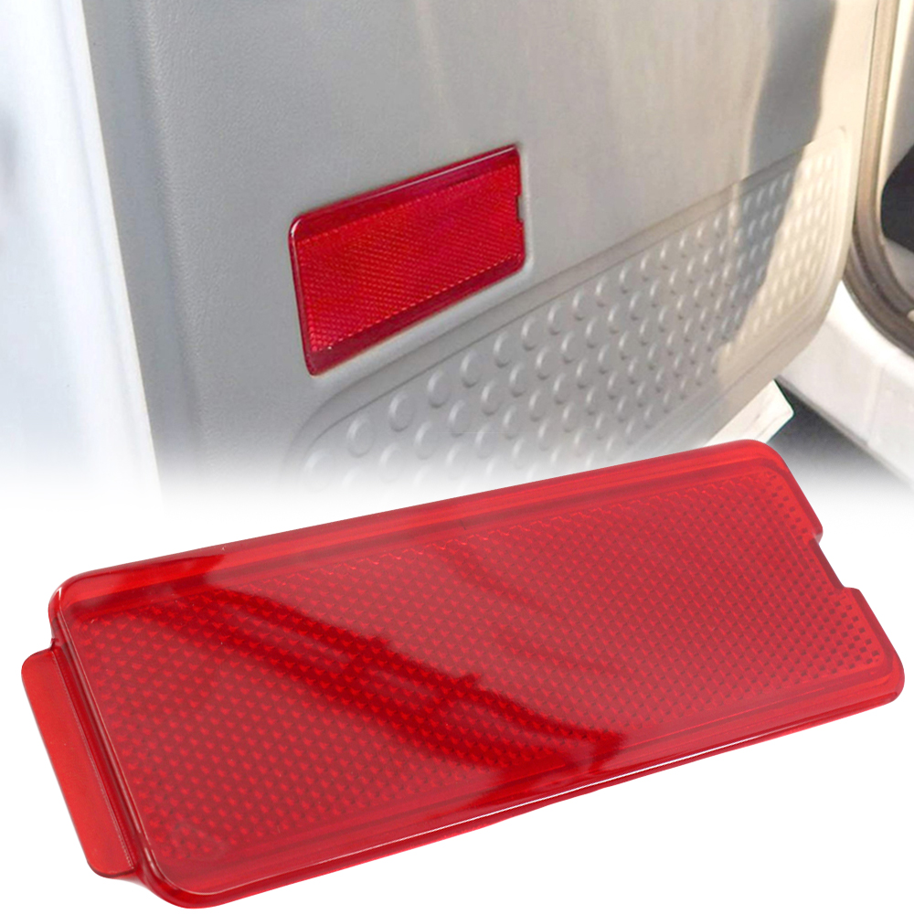 1999-2007 SuperDuty F250 F350 F450 F550 Super Duty /& 2000-2005 Excursion 4 Premium Door Reflectors Interior Red Compatible with Ford