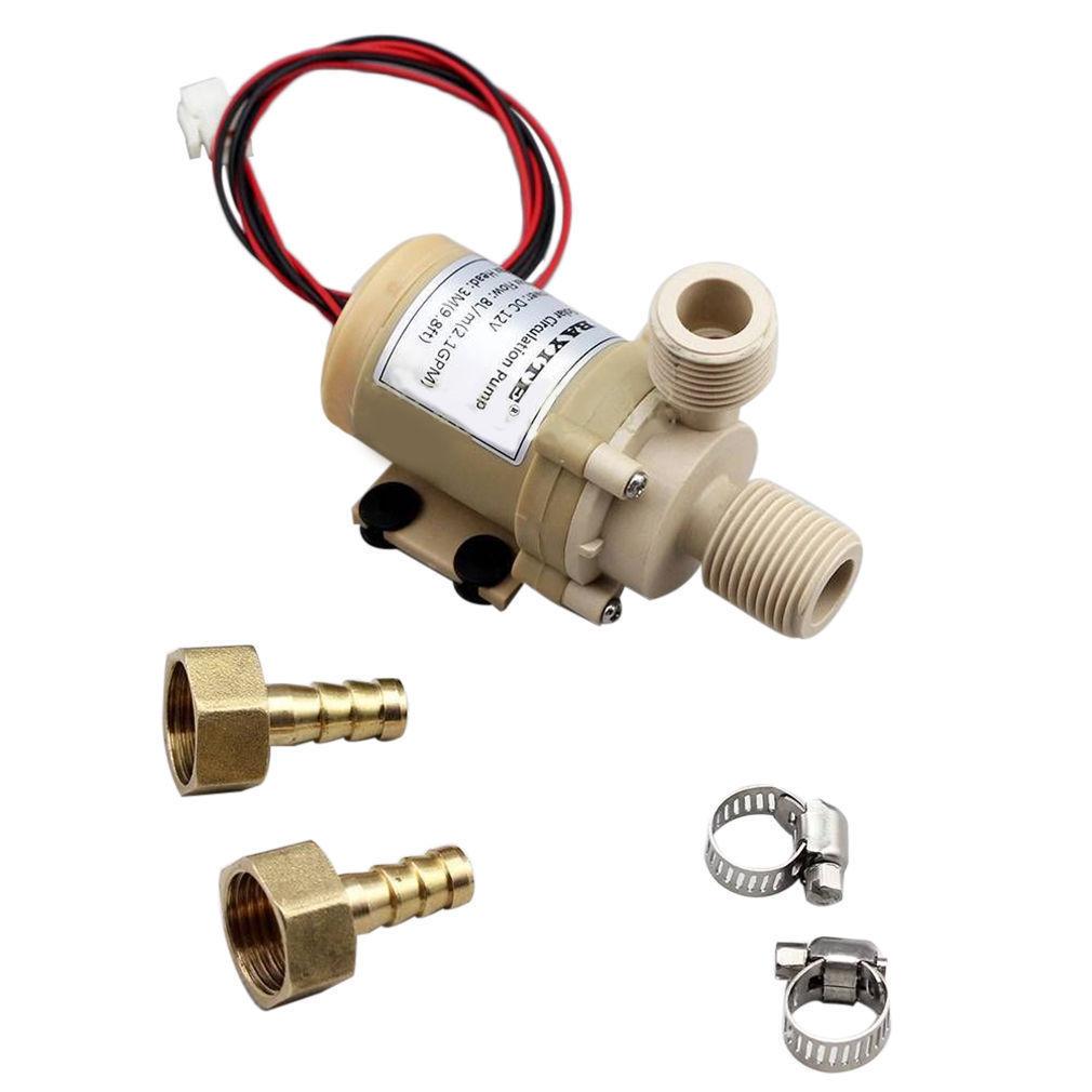 Dc 12v water circulation pump brushless motor water pump for Dc motor water pump