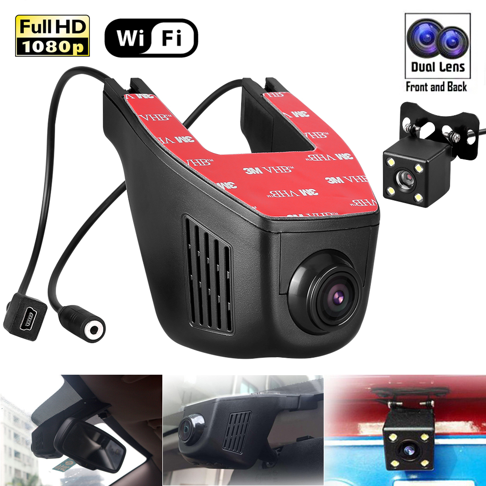 hd 1080p wifi versteckte kamera auto kamera dvr dashcam. Black Bedroom Furniture Sets. Home Design Ideas