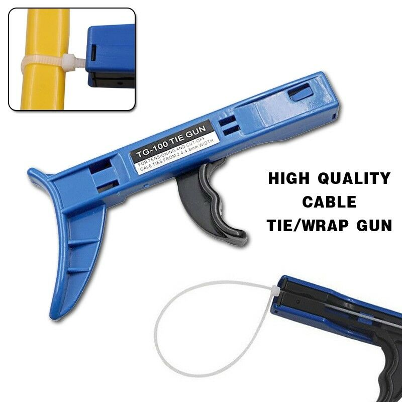 Clamps, Ties & Cords Cable Ties Manual Cable tie gun Tensioning ...
