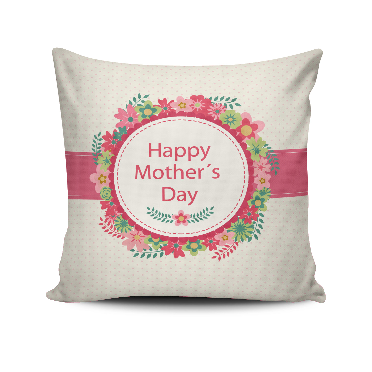 Happy Mother 039 S Day Festival Throw Pillow