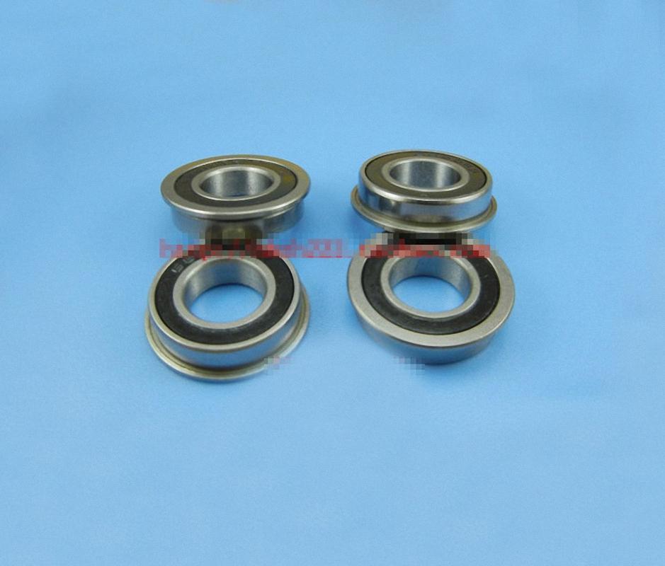 New 10pcs Flange Ball Bearing F6900ZZ 10*22*6 mm Metric flanged Bearing