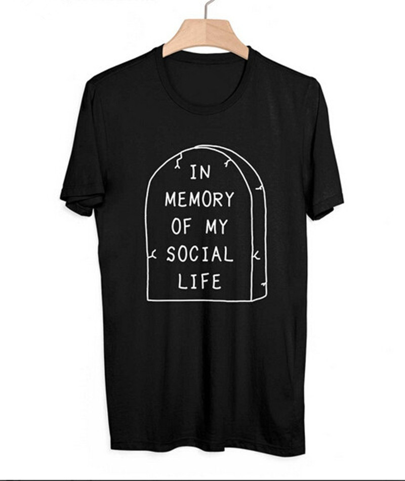 In Memory Of Social Life T Shirt Suh Dude Tee Adios Bitch Achos