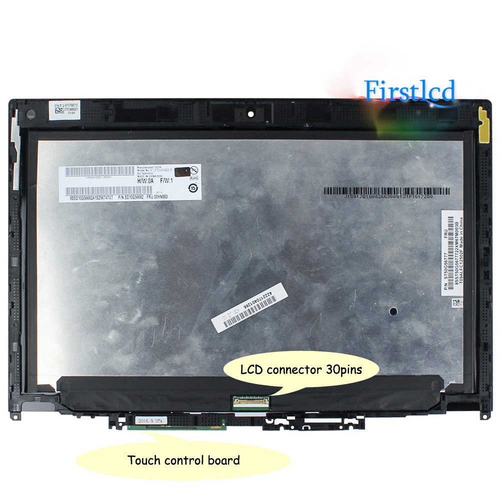 "NEW 12.5/"" Lenovo ThinkPad Yoga 01HY619 FHD LCD Touch Screen Digitizer Assembly"