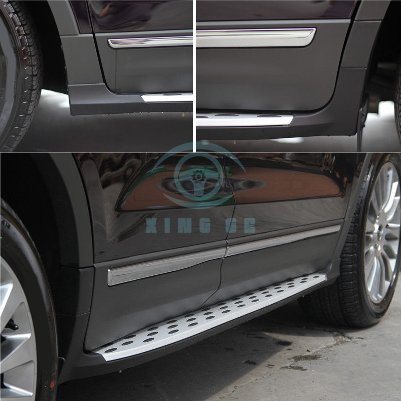 2016 Lincoln Cars: Aluminum For Lincoln MKC 2015 2016-17 Car Foot Running