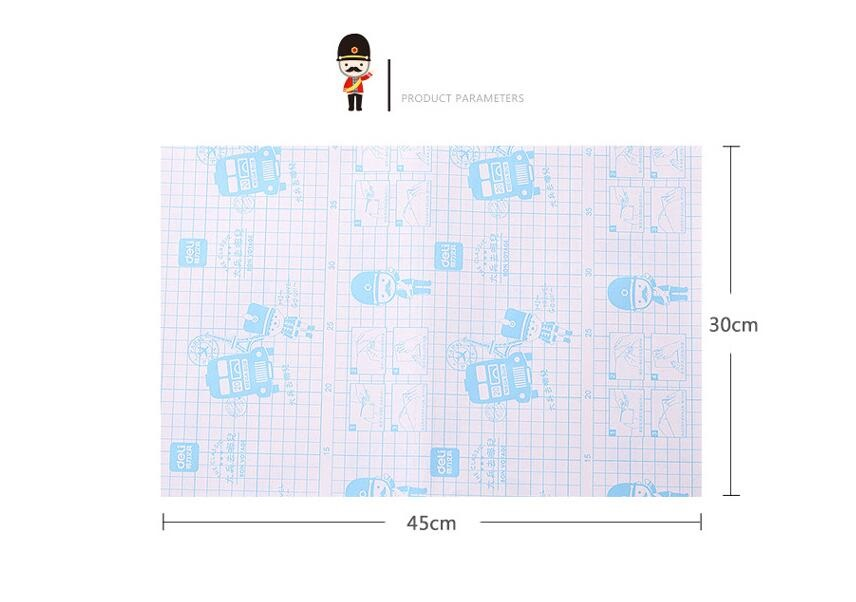 Details about 10pcs 45X30cm Book Cover Protective Film Clear Plastic Sticky  Self-Adhesive Grid