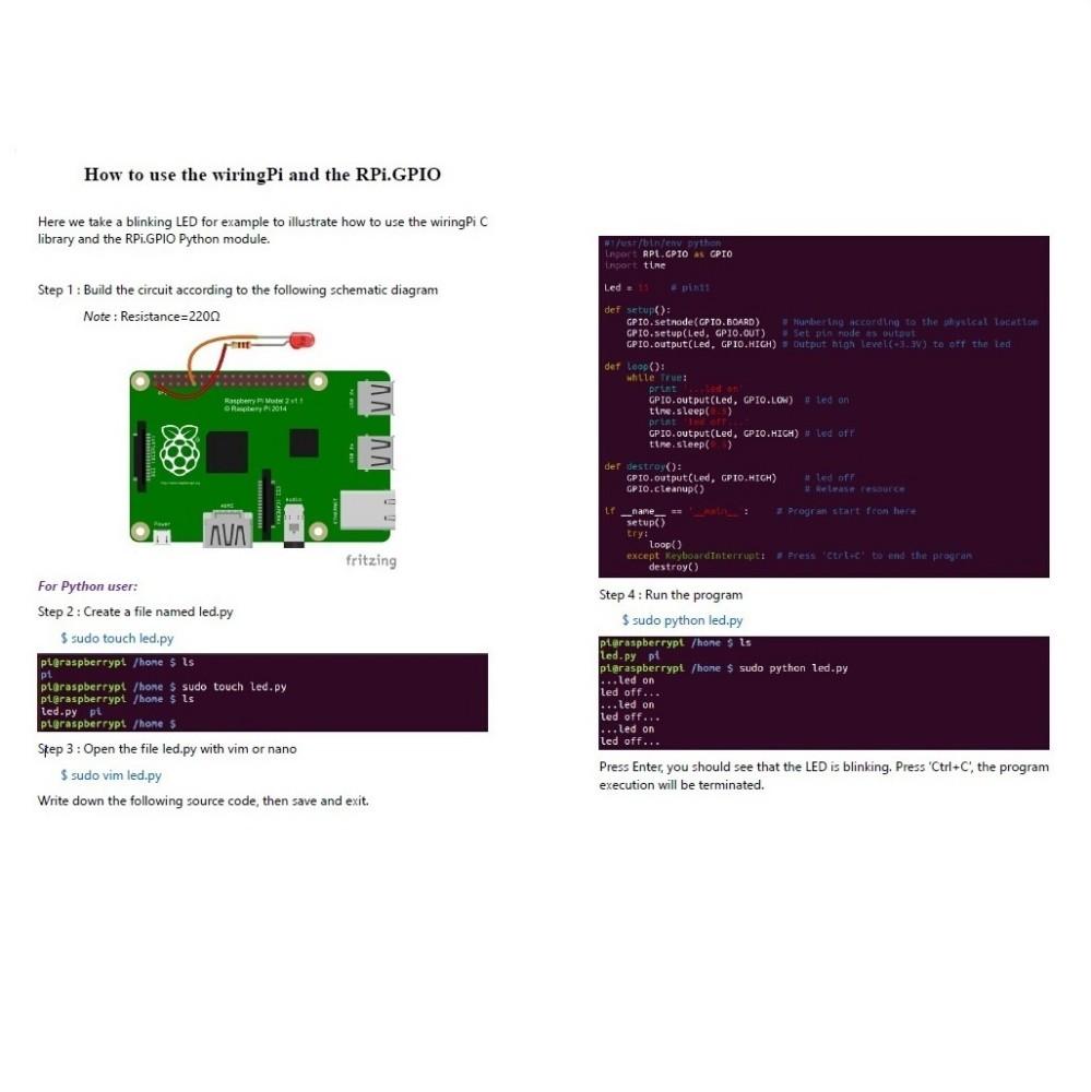 Adeept Rfid Starter Learning Kit For Raspberry Pi 3 2 Model B Using Wiringpi In Python Items Description