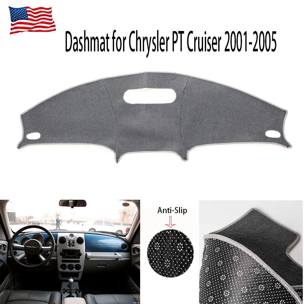 ILS Dash Mat Cover Dashboard Pad Carpet para Chrysler PT Cruiser 2001-2005