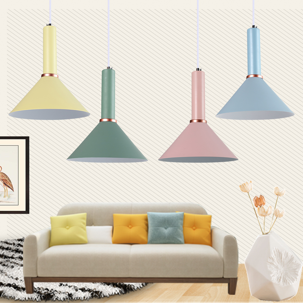 """9.9"""" Morden Pendant Ceiling Light Fixture Metal Lamp"""