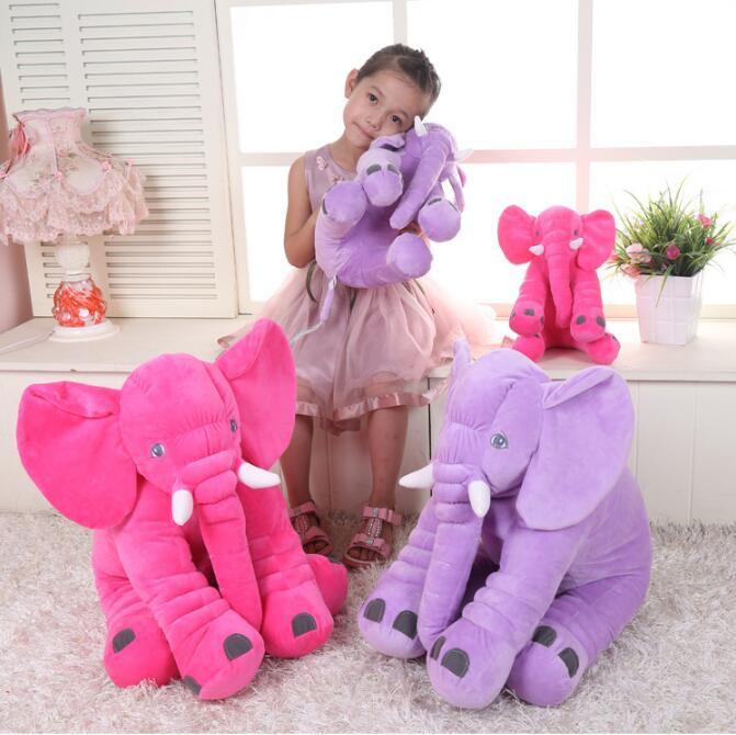 Süß Elefant Plüschpuppe Kissen Tier Puppe Stoffpuppe Schlafzimmer Sofa   Dekorat Steiff