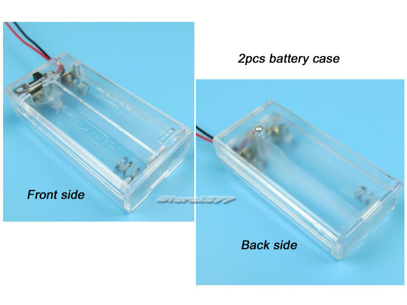 New 50pcs CR2032 Vertical Upright Battery Holder S850
