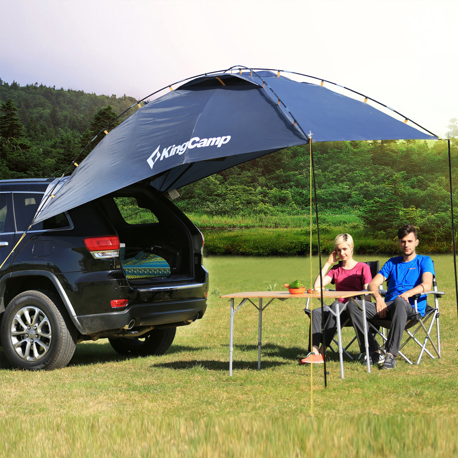 Kingcamp SUV Shelter Truck Car Tent Trailer Awning Rooftop