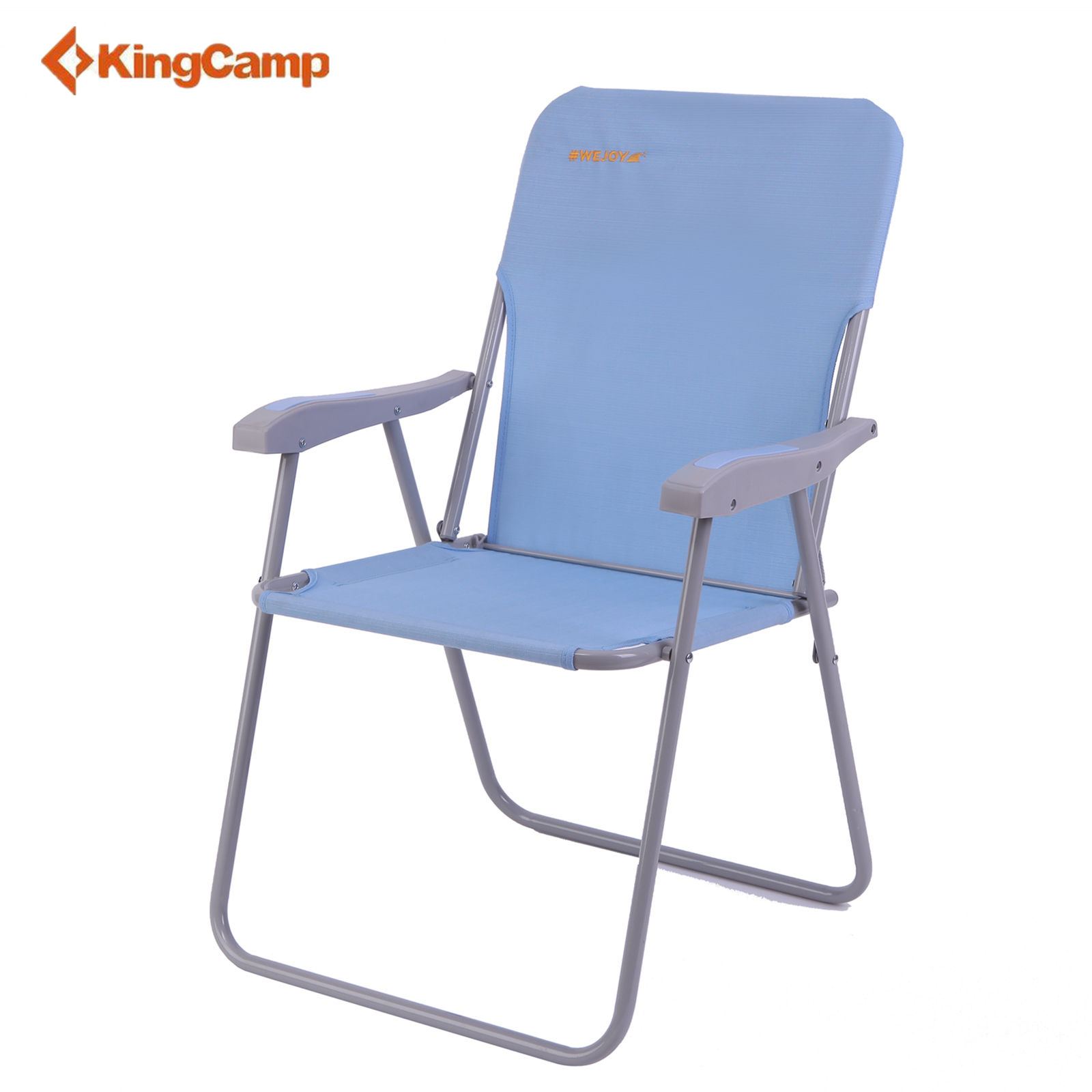 Details about WeJoy Lightweight Portable Folding Beach Chair Blue Camping  Indoor Outdoor Fish