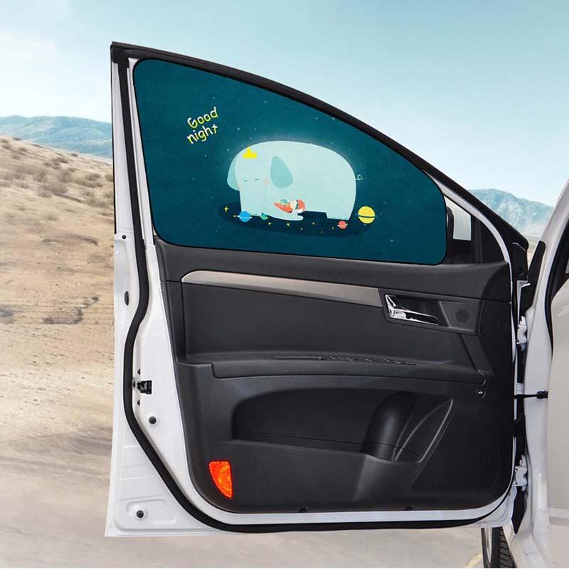 Insulate Car Windows: Car Window Shade Insulation Sunscreen Anti-UV Magnetic